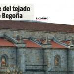Rehabilitación del Tejado de la Basílica de Begoña de Eginetxe, Obras, Reformas y Construcción en Bilbao